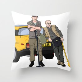 Detectorists - Lance & Andy - DMDC Throw Pillow