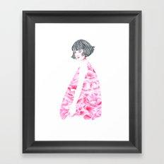 poppy girl Framed Art Print