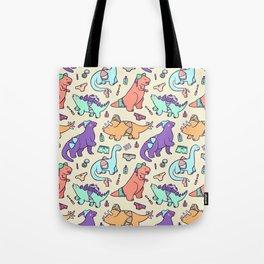 Dinosaur Panty Raid Tote Bag