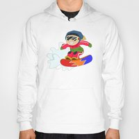 snowboarding Hoodies featuring Winter Sports: Snowboarding by Alapapaju