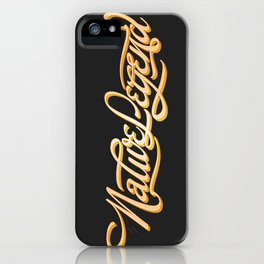 Native Legend iPhone Case