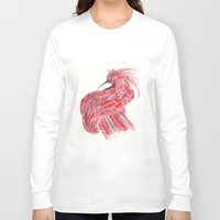 phoenix Long Sleeve T-shirts featuring phoenix by echoes