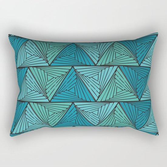 geometric II Rectangular Pillow