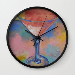 Marilyn Monroe Martini Wall Clock