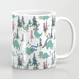 Dinosaur Hygge Coffee Mug