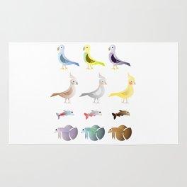 Animals 9 Rug
