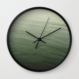 Calm Waters at Pismo Beach Wall Clock