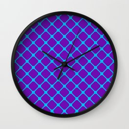 Square Pattern 1 Wall Clock