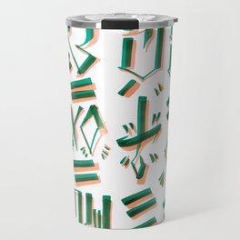 MIND & SOUL Calligraphy  Travel Mug