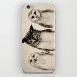 The Owl's 3 iPhone Skin
