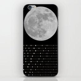 2017 Calendar - Lunar iPhone Skin