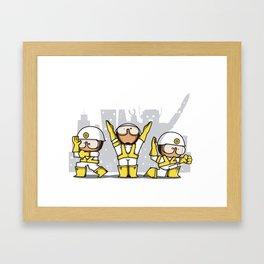BB tribute Framed Art Print