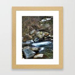 Agua fresca Framed Art Print
