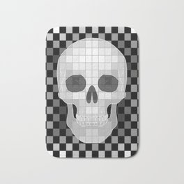 Chess Skull Bath Mat
