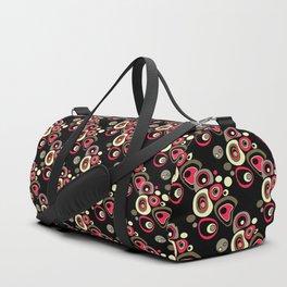 Abstract colorful polka dots pattern . Duffle Bag