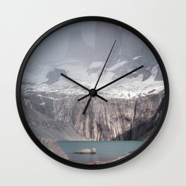 Three Towers, Chile Wall Clock
