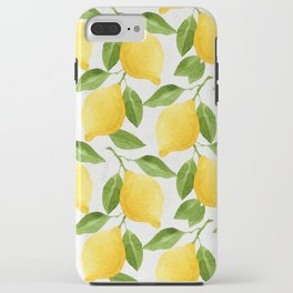 Watercolor Lemons iPhone Case