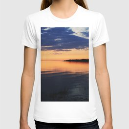 Sunset by the Lake T-shirt