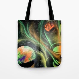Space Coffee Tote Bag