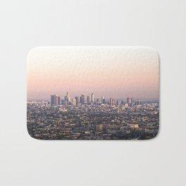 Los Angeles Sunset Bath Mat