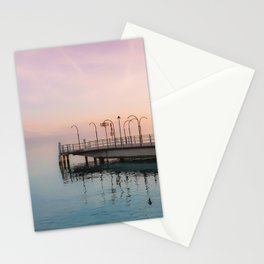 A Suspended Moment In Time Over The Lake Stationery Cards