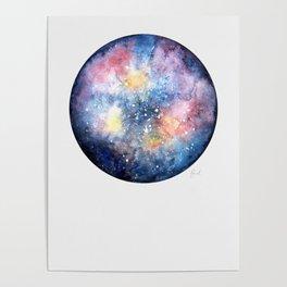 Galaxy Ball Poster