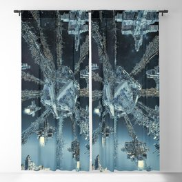 Space Dock Rendezvous Blackout Curtain