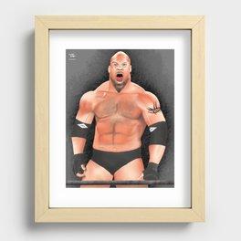 Bill Goldberg Recessed Framed Print