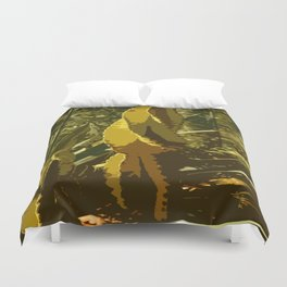 The Beauty Of A Cactus Duvet Cover