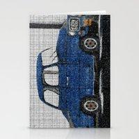 cuba Stationery Cards featuring Cuba Car by Sartoris ART