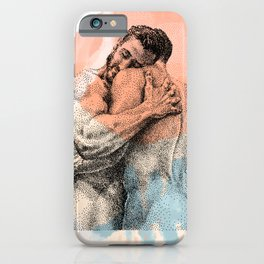 The Lovers - NOODDOOD Remix iPhone Case