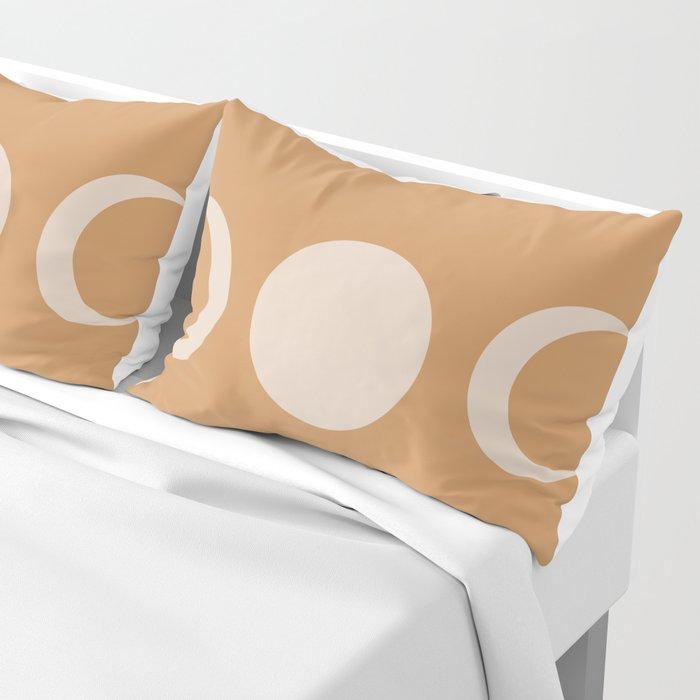 Moon Minimalism - Desert Sand Pillow Sham