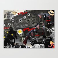 sin city Canvas Prints featuring Sin City by Phillip J. Speciale