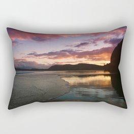 Sunset at the Beach Rectangular Pillow