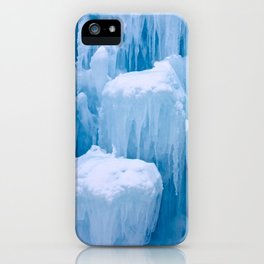 Beautiful Blue Icicles iPhone Case