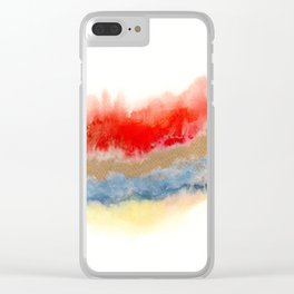 Minimal Expressions 02 Clear iPhone Case
