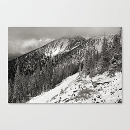 Storm is brewing! Canvas Print