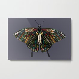 swallowtail butterfly dusk Metal Print