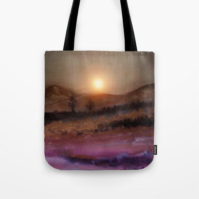 Calling The Sun V Tote Bag
