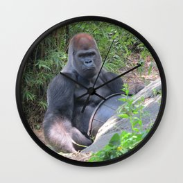 Gorilla Says Wall Clock