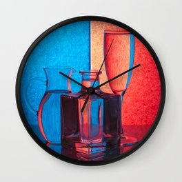 Play of light-2 Wall Clock