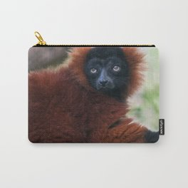 Red Ruffed Lemur Carry-All Pouch