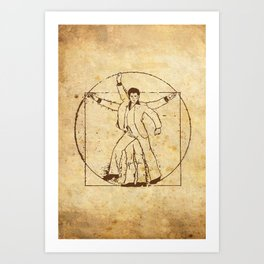 VI-GROOVIAN MAN Art Print