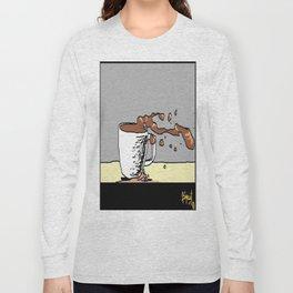 coffee blow. Long Sleeve T-shirt