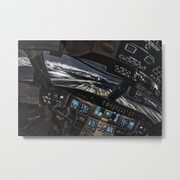 32R Clear to land Metal Print