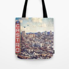 The City By The Bay Tote Bag