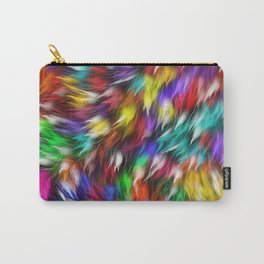 Fur From A Bright Colored Mythical Beast Carry-All Pouch