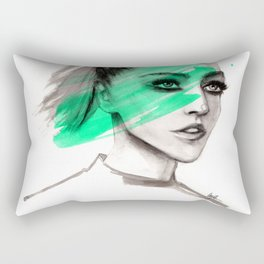 Sasha in mochito vibes Rectangular Pillow