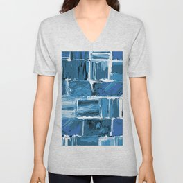 486 - Abstract Collection Unisex V-Neck