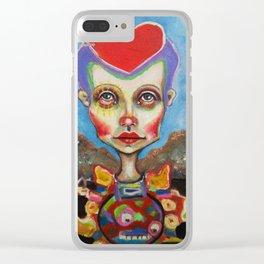 hearthead Clear iPhone Case